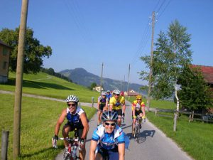 Alps cycle tour